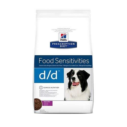 Hill's VET Diet Canine d/d mit Ente und Reis, 1er Pack (1 x 12 kg)
