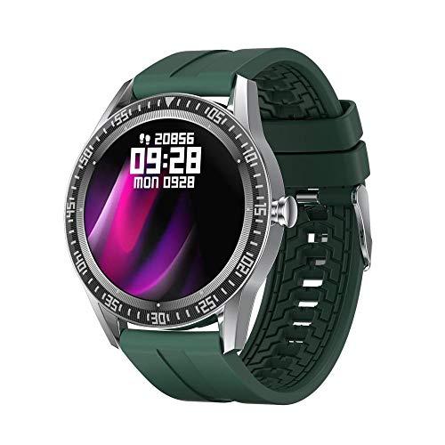 Reloj Inteligente Mujer Hombre,Pulsera-Verde de los Deportes de la Medida del oxígeno en la Sangre de la presión Arterial del Ritmo cardíaco,Pulsera de Actividad Inteligente Reloj Deportivo
