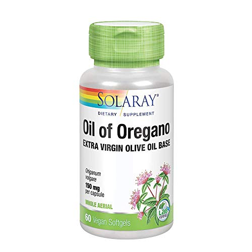 Solaray Oil of Oregano 150mg | Aceite de orégano | 60 Perlas