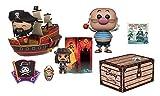 USA OFFICIAL Disney Treasures Box Pirate Cove Nueva Sellada Funko Pop Smile Jack Sparrow EXC