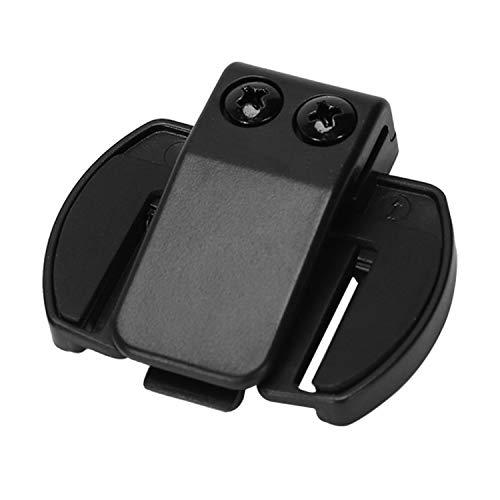 OVBBESS 2 piezas Vnetphone V6 V4 V2-500C Intercomunicador Accesorios,Soporte de montaje de clip de intercomunicador de casco,Accesorios de auriculares de intercomunicación BT para motocicleta