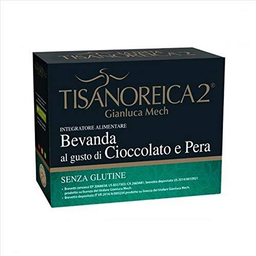 Gianluca Mech - Bevanda Energetica Gluten Free al Gusto Cioccolato e Pera - 130gr