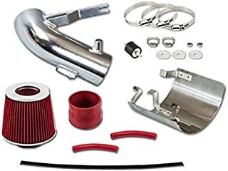 Catinbow 2.75+3.0 Cold Air Intake Kit with Lifetime Filter for 2006-2011 Honda Civic DX LX EX All Models with 1.8L L4 Engine