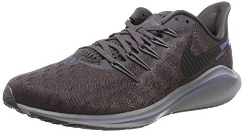 Nike Men's Air Zoom Vomero 14 Running Shoes, Grey (Thunder Grey/Black/Stellar Indigo/Gunsmoke/Atmosphere Grey/Lt Blue 005), 6.5 UK