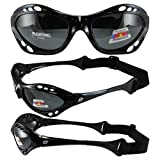 Birdz Eyewear Seahawk Sunglasses (Black Frame/Smoke Lens)