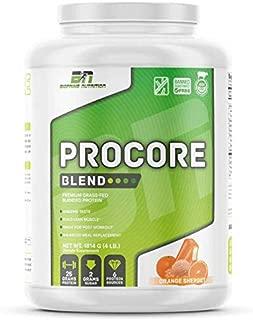 BioPrime Protein Powder ProCore Blend – Orange Sherbert Whey Protein (4 lbs)
