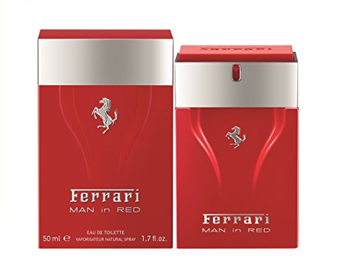 Cavallino Man In Red Edt 50 Ml, Ferrari, Sem Cor