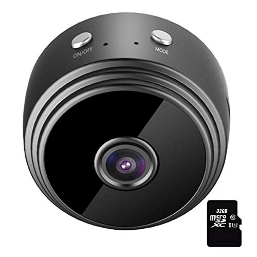 Gizayen WiFi IP Security Camera, A9 Mini WiFi 1080P Camera Remote Surveillance Night Vision Home Monitoring Wireless IP Camera