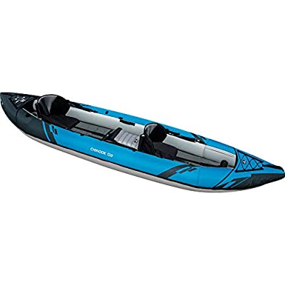 AQUAGLIDE Chinook 120 Inflatable Kayak, 2-3 Person