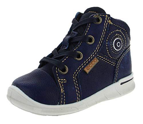 ECCO Jungen Unisex Kinder First Sneaker, Blau (Indigo7), 22 EU