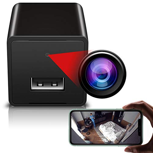 MINI USB WALL CHARGER CAMERA WITH WIFI