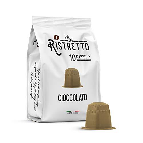FRHOME - 50 Cápsulas compatibles Nespresso - Chocolate - MyRistretto