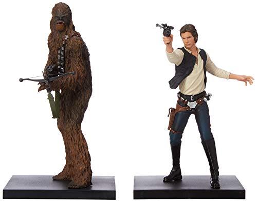 Kotobukiya Star Wars Han Solo and Chewbacca Artfx+ Statue image