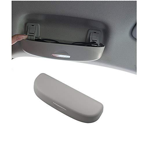 Brillenhalter Auto Sonnenblende Sonnenbrillen Etui Grau Für A3 8V 8P S3 A4 B9 B8 A5 C7 C8 C6 A7 A8 Q3 Q5 Q7
