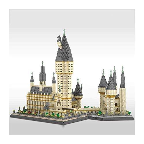 LKITYGF Perfekt 3D Magic Castle Miniaturpartikel Puzzle Bausteine, Nano Mini Bausteine, zusammengebaute Modellbausteinspielzeug, Nano Mini Bausteinspielzeug, (7750 Stück) Ji