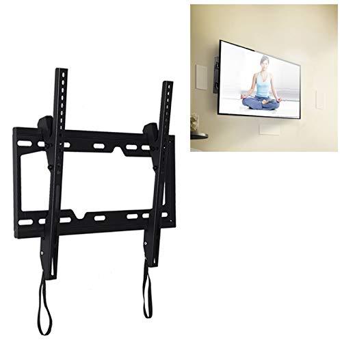 TV Auxiliar LGmin KT2267 26-55 Pulgadas Universal Ajustable Ángulo Vertical LCD TV Montaje de Pared Soporte con cordón