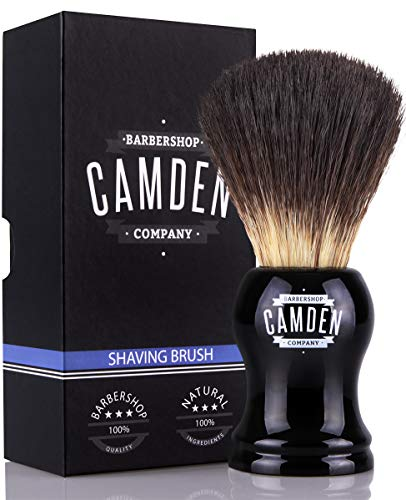EINFÜHRUNGSANGEBOT ● Rasierpinsel von Camden Barbershop Company ● Vegan Badger 2.0 ● für die Nassrasur ● veganes Dachshaar