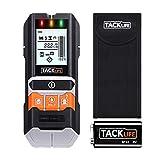 TACKLIFE Ortungsgerät, 5 in 1 Metalldetektor Wand Scanner Detektor, Leitungssucher mit großer LCD-Display, Kabelfinder mit Schutztasche für Stromleitung, Holz, Metall und Feuchtigkeit -DMS05