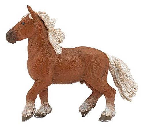 Papo 51555 Pferde, FOHLEN UND PONYS Comtois, Mehrfarben