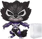 Pop! Funko Marvel: Venom - Venomized Rocket Raccoon Pop! Vinyl Figure (Includes Compatible Pop Box Protector Case)
