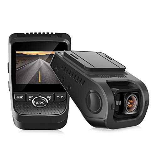 Pruveeo 112GW FHD 1080P Dash Cam, Built-in GPS WiFi, Dash Camera for Cars with Sony Sensor 170-degree Wide Angle 2.4-inch LCD