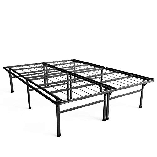 Zinus Premium SmartBase 4 Extra Inches high for Under-bed Storage/Mattress Foundation/Platform Bed Frame/Box Spring Replacement/Quiet Noise-Free, Queen (Renewed)