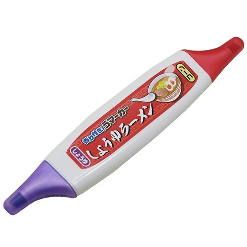 しょうゆラーメン[カラーペン]香り付き うマーカー/醤油とコーンの香り