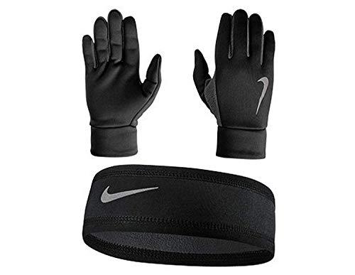 NIKE Therma Mens Headband and Glove Set