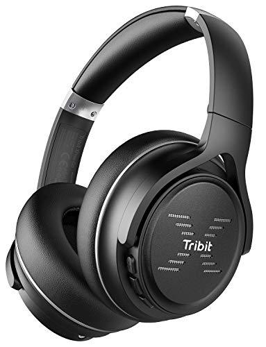 41MAoiBzRGL - TaoTronics Active Noise Cancelling Headphones [2019 Upgrade] Bluetooth Headphones Over Ear Headphones Hi-Fi Sound Deep Bass, Quick Charge(Renewed)