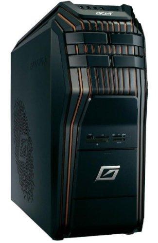 Acer Predator 920-013 3.4GHz i7-3770 Escritorio Negro, Naranja PC - Ordenador de sobremesa (3,4 GHz, 3ª generación de procesadores Intel Core i7, i7-3770, 3,9 GHz, LGA 1155 (Socket H2), 8 MB)