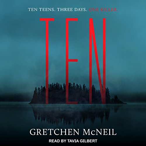 Ten audiobook cover art
