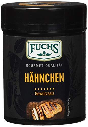 Fuchs Gewürze Hähnchen Gewürzsalz - herzhafter Genuss in der wiederverwendbaren Dose, 3er Pack (3 x 65 g)