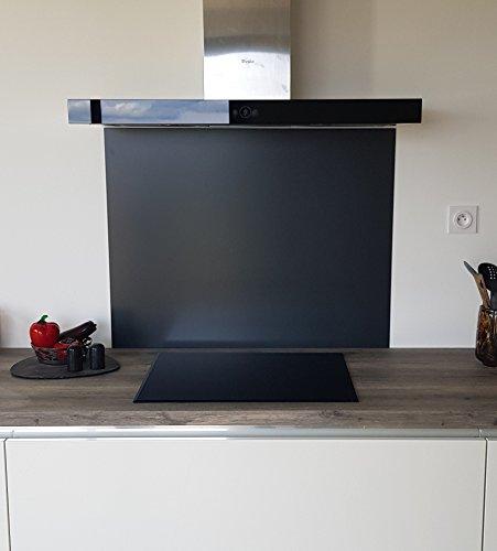 stützt für Dunstabzugshaube/Kredenz Aluminium Grau Anthrazit RAL 7016s-11Tailles-Hauteur 70cm x, Anthrazit, Longueur 90 cm