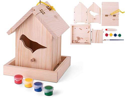 Grayblock Bird House Paint