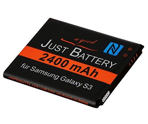 JuBaTec original Akku für Samsung Galaxy S3 neo GT-i9301 mit NFC und 2.400 mAh ersetzt EB-L1G6LLU