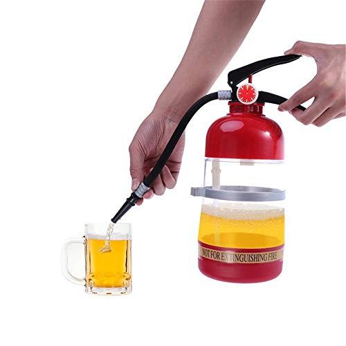 LSS Dispensador de Bebidas con extintor de Incendios de 2L, pequeña máquina de Cerveza, Separador de Vino con Soporte, Bar del Hotel, máquina de elaboración de Barras KTV, 13.8 * 4.75 cm
