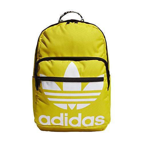adidas Originals Trefoil Taschenrucksack, Unisex-Erwachsene, Rucksack, Originals Trefoil Pocket Backpack, gelb, Einheitsgröße