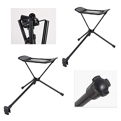 Folding Camp Chair ― Lightweight & Durable Outdoor Seat ― Perfect For Camping, Festivals, Garden, Caravan Trips, Fishing, Beach, BBQs/black