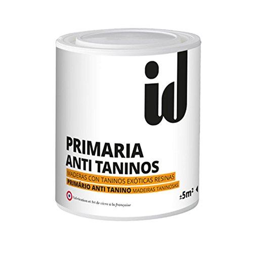 Pintura Primaria anti taninos blanca tanto de interior/exterior para muebles. Bloquea las subidas de taninos, aceite, resina y evita la formación de manchas. - 500 ml -