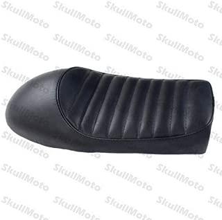 FidgetGear Black Vintage Hump Cafe Racer Seat for Kawasaki KZ KZ400 KZ550 K750 Z650 W650