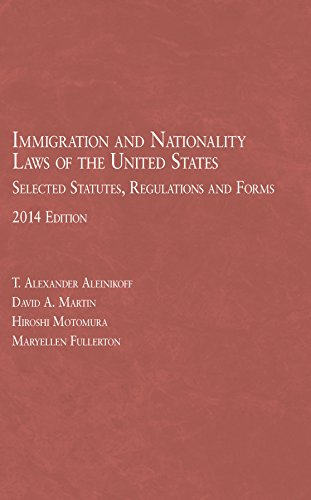 Immigration and Nationality Laws of the United States: Selected Statutes, Regulations and Forms, 201