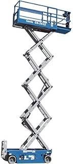 Genie Self-Propelled Scissor Lift Aerial Work Platform - 26ft. Lift, 500-Lb. Capacity, Model Number GS-2632