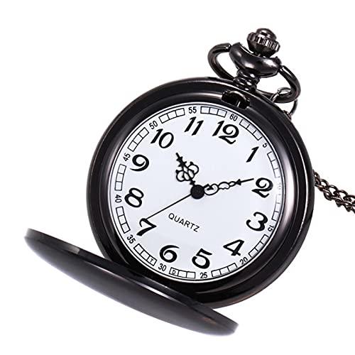 Reloj de bolsillo clásico Reloj de bolsillo de oro de los hombres Grand Gift Colgante de la cadena de la pulsera de la cadena de los hombres Regalo de cumpleaños para hombres Reloj de bolsillo Vintage