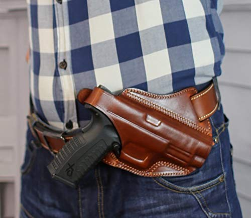 Falco Cross Draw Holster for CZ 75D Compact