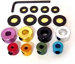 Alum Drill Bit Stop Collar 8 pcs set (ドリルストップ 8個セット)#298 ***