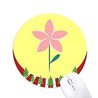 円形滑りゴムのマウスパッドクリスマス飾り