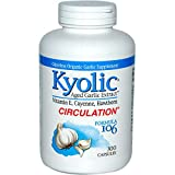 Kyolic Aged Garlic Extract Formula 106, Circulation, 300 Capsules