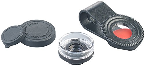 Somikon Makrolinse: Mikroskop-Vorsatzlinse CVL-30 für Smartphones, 30-fache Vergrößerung (Microscope)