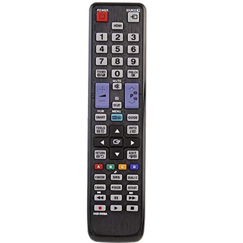 VINABTY AA59-00508A Fernbedienung für SAMSUNG-Fernseher ersetzen UE27D5010 UE32D5520 UE32D5500RWXXH UE40D5725RSXXE UE40D5500RWXRU UE37D5720RSXZF UE46D6000TPXZT UE40D5500RWMS