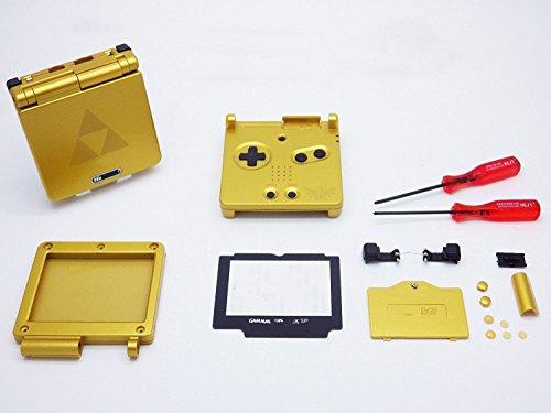 GBA SP Gameboy Advance SP Coque de rechange avec tournevis pour objectif d'écran